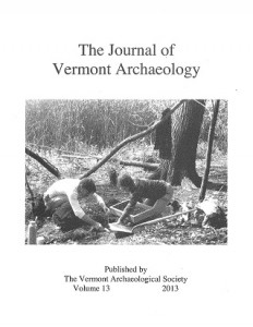 Journal of Vermont Archaeology Volume 13