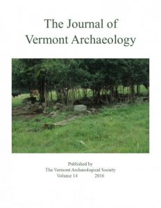 The Journal of Vermont Archaeology - Volume 14 (2016)